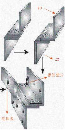 磁力锁的标准安装方法